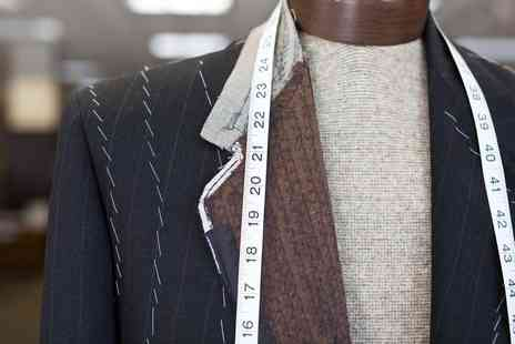 A Suit That Fits - £100 voucher towards any bespoke suit - Save 90%