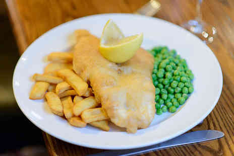 The Telford Arms - Fish and chips for two - Save 58%