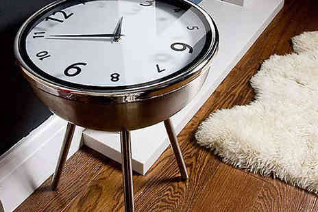 Retro Clock Coffee Table - Retro Clock Table Delivery Included - Save 55%