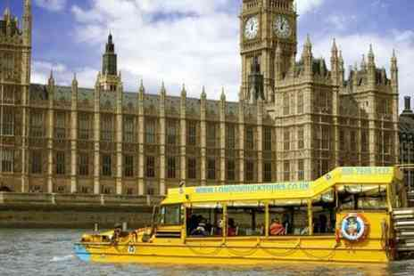London Duck Tours - London  Land and River Sightseeing Tour - Save 23%