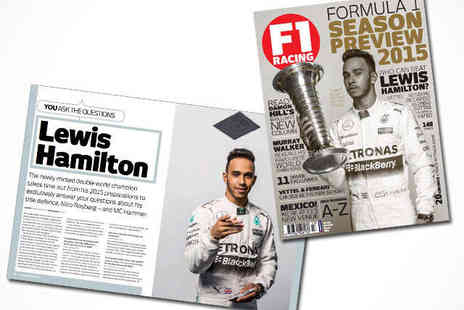 F1 Racing Magazine - F1 Racing Magazine 12 Month Subscription, Delivery Included - Save 68%