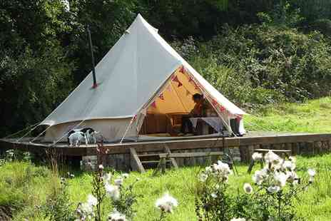 Henfryn Farm - Two Night family glamping break with cake and late check out - Save 51%