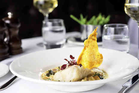 Flemings Mayfair - Boutique Mayfair Dining with a Glass of Wine for One - Save 46%