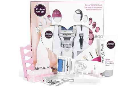 CM Direct - MICRO Pedi Manicure Pedicure Set - Save 63%