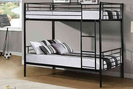 PKL Leisure - Childrens 3fit Single Bunk Bed - Save 54%