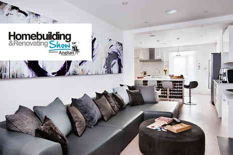 The National Homebuilding and Renovating Show  - Two tickets to The National Homebuilding & Renovating Show  - Save 50%