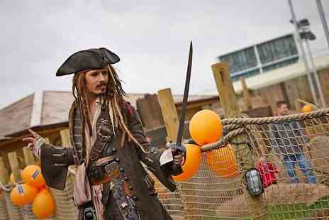 Adventure Leisure  - 18 hole pirate adventure golf experience for Two including a hot drink -  Save 59%