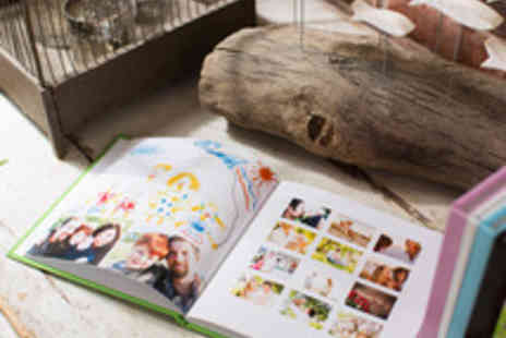 Huggler - A Choice of 26 or 100 Page Personalised Photo Books - Save 61%