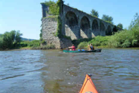 Way2Go Adventures - Half Day Guided River Wye Canoe or Kayak Trip - Save 51%