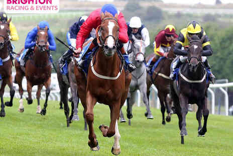 Brighton Racecourse - Two Premier Tickets to Season Opening Race Evening  - Save 55%