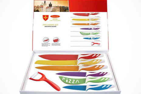 Slice Slice Baby - Swiss Knife Set Delivery Included - Save 73%