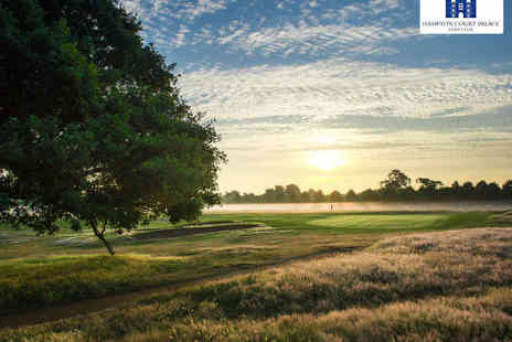 Hampton Court Palace Golf Club - Round of Golf with Buggy Hire and Bowl of Soup for Two  - Save 54%