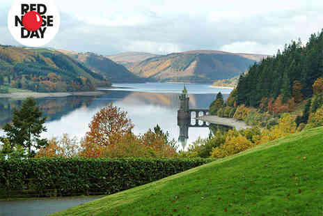 Lake Vyrnwy Hotel and Spa - One Stay for Two with Breakfast, Five Course Dinner Each on First Night, and Glass of Prosecco Each with Truffles - Save 45%