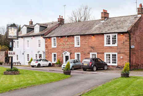 The Kings Arms - Two Night  Stay for Two with Breakfast, and a Glass of Wine Each If Dining on Two Courses on First Evening - Save 44%