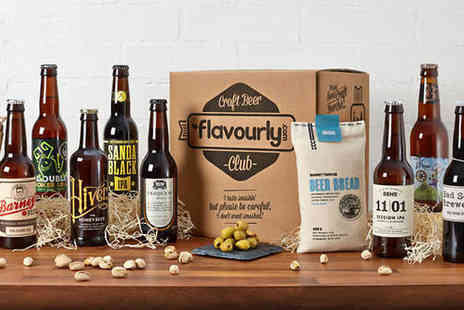 Flavourly  - Delicious Flavourly Craft Beer Box  - Save 63%
