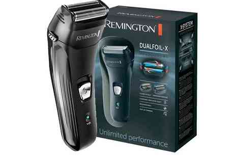 CM Direct - Remington F3800 Dual Foil Rechargeable Shaver & Trimmer - Save 37%