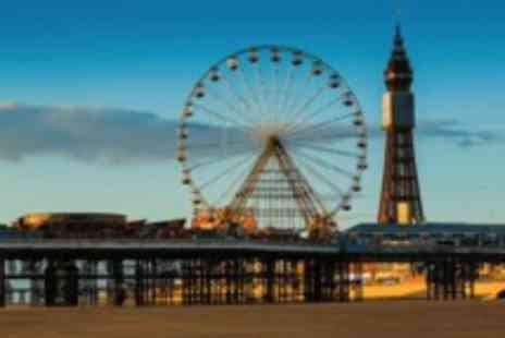 The Parisienne Hotel - Two night Blackpool seafront stay for Two with full English breakfasts - Save 0%