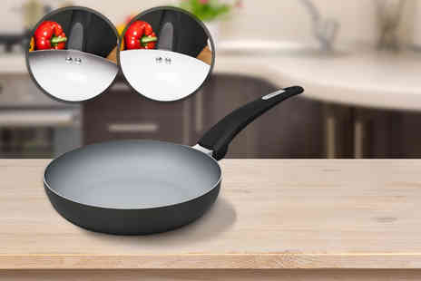 Bonnypack Scotland  -  20cm colour changing non stick Tower frying pan  - Save 58%