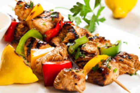 Christakis Greek Restaurant - Two Course Greek Meal for Two  - Save 44%