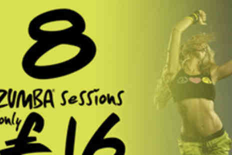 Academia de Salsa - Eight Zumba sessions - Save 50%
