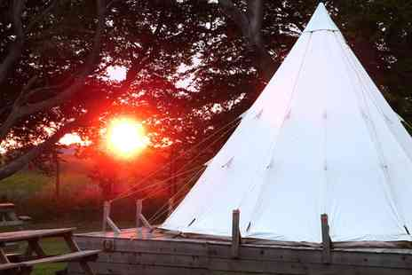 Pinewood Park - One night family glamping break  in Scarborough - Save 46%