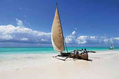 Zanzibar  - Escape to Zanzibar for Six nights at Three hotels with game drive & more included  - Save 39%
