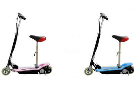 STO Racing Products - 120w Electric Scooter with Optional Seat - Save 59%