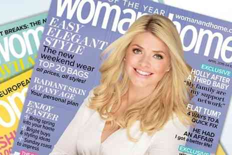 Woman & Home Magazine - 12 Month Woman & Home Magazine Subscription With Free Delivery - Save 55%