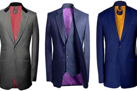 A Suit That Fits - Bespoke Tailored Suit and White Shirt - Save 31%