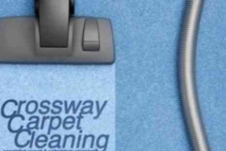 Crossway Carpet Cleaners - Carpet Clean in Two Rooms of Any Size and Stairs - Save 61%