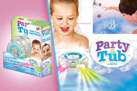 FAFO  - Party in the Tub LED bath light toy  - Save 73%