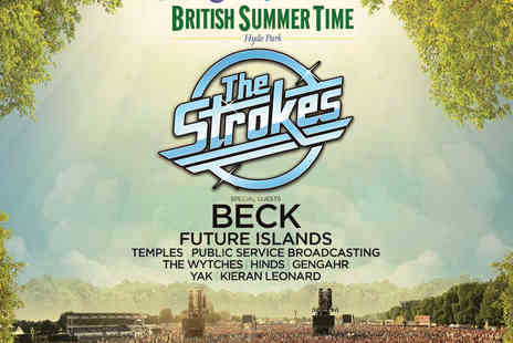 AEG Live - Presale Tickets to The Strokes at Barclaycard Presents British Summer Time Hyde Park - Save 0%