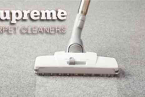 Supreme Cleaners - Carpet Cleaning - Save 72%