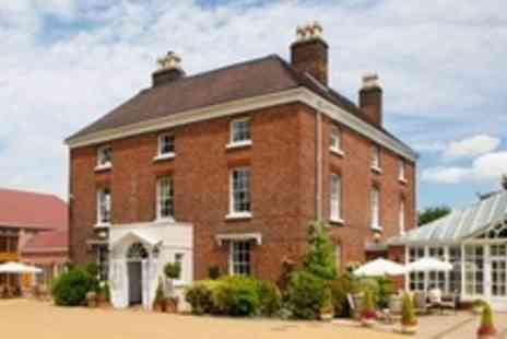 Hadley Park House Hotel - One Night Getaway For Two With Afternoon Tea and Breakfast - Save 60%