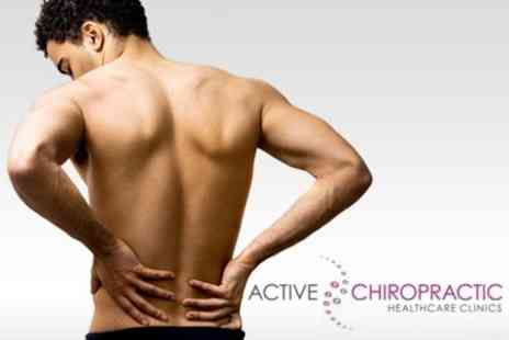 Active Chiropractic - Introduction to Chiropractic with Four Sessions including Consultation, Examination & Treatment - Save 81%