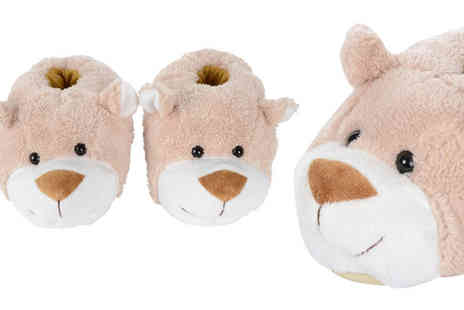 xsstock online - Teddy Bear Slippers - Save 0%