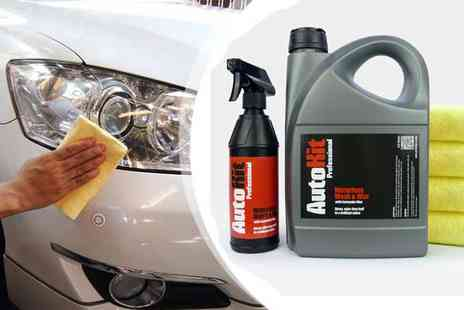AutoKit Pro - AutoKit Waterless Car Wash with Carnauba Wax - Save 48%