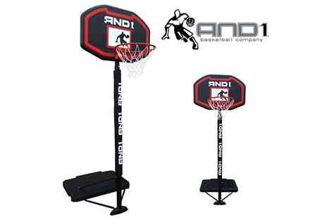Ventura Incorporated  - AND1 Portable Basketball Hoop - Save 51%