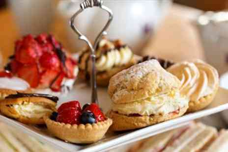 Alfreton Hall - 19th Century Manor Afternoon Tea for Two with Bubbly - Save 55%