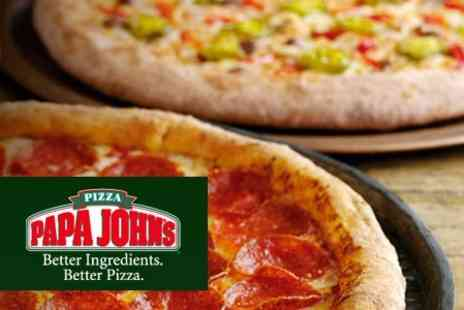 Papa John's - Any Two Extra Large Pizzas for £11 - Save 67%