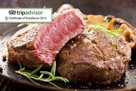 Hale Kitchen & Bar - Chateaubriand steak meal for Two including a Champagne cocktail each - Save 62%
