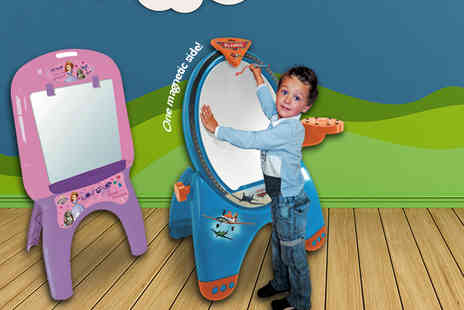 Fancy Suits - Disney multi-purpose art easel and activity set in a Planes or Sofia design - Save 63%