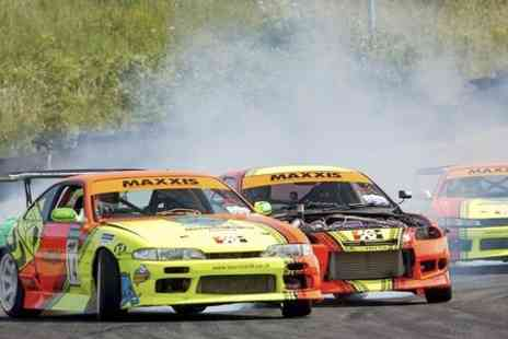 Slide School Drift Academy - Half Day Experience Plus Passenger Laps - Save 65%
