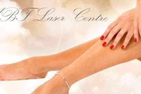 ABT Laser Centre - Luxury Manicure and Pedicure Plus Paraffin Wax Treatment - Save 64%