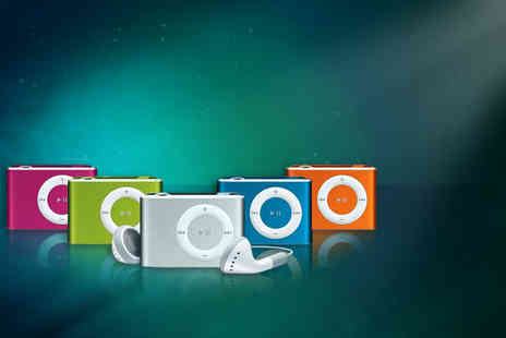 Aceco  - Shuffling mini MP3 player with earphones in a choice of 5 colours - Save 84%