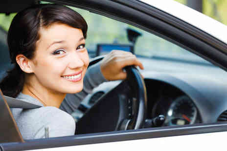 L drive the wright way  -Three hours of driving lessons and 1 hour on the day of your test  - Save 84%