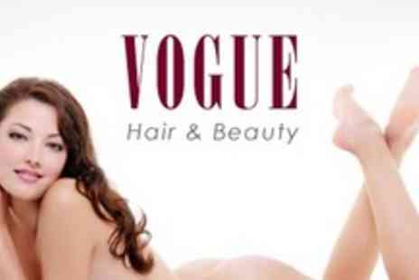 Vogue Hair & Beauty - Full Legs, Underarms and Bikini Wax - Save 63%
