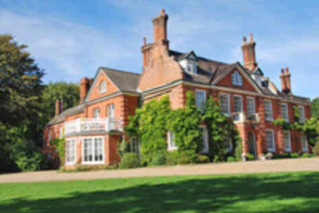 The Norfolk Mead Hotel - Exquisite Countryside Dining Break in Norfolk for Two - Save 36%