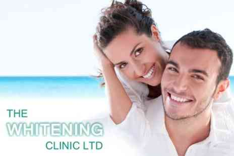 The Whitening Clinic - LED Teeth Whitening Treatment for £99  - Save 60%