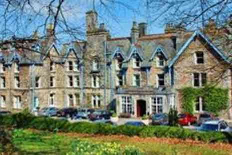 Cumbria Grand Hotel -  Getaway with three course dinner and fizz - Save 44%